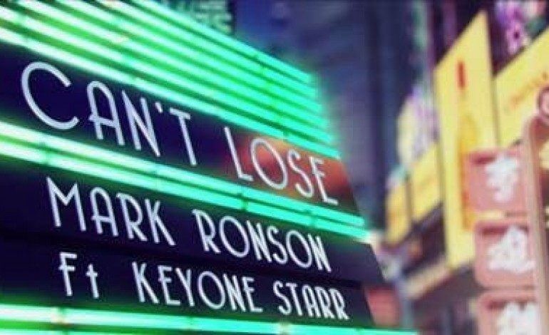"""WATCH: Mark Ronson Releases New Video For """"I Can't Lose"""""""