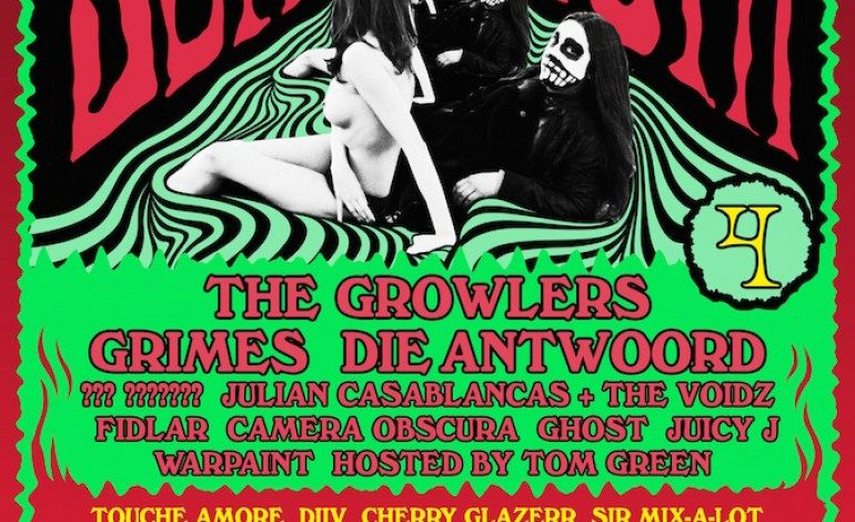 Beach Goth 4 2015 Lineup Announced Featuring The Growlers, Grimes and Die Antwoord