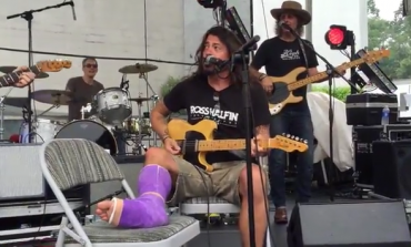 WATCH: Dave Grohl Covers Neil Young With Former Members Of Pearl Jam And Blind Melon