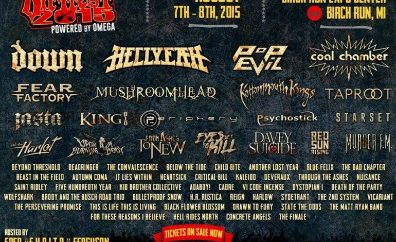 Dirt Fest 2015 Lineup Announced Featuring Down, Coal Chamber And Hellyeah