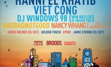 FLOODfest Chicago 2015 Lineup Announced Featuring Hanni El Khatib, Viet Cong And BADBADNOTGOOD