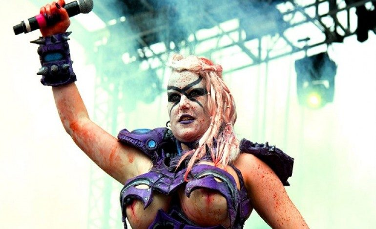 Former GWAR Vulvatron Performer Gets In A Fight With Upon A Burning Body's Singer