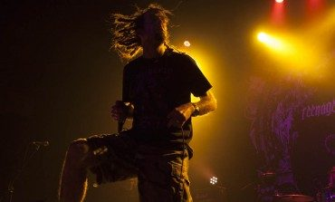 """Randy Blythe Covers Discharge's """"Doomsday"""" and """"The Final Blood Bath"""" with Charlie Benante, Scott Ian and Dan Lilker"""