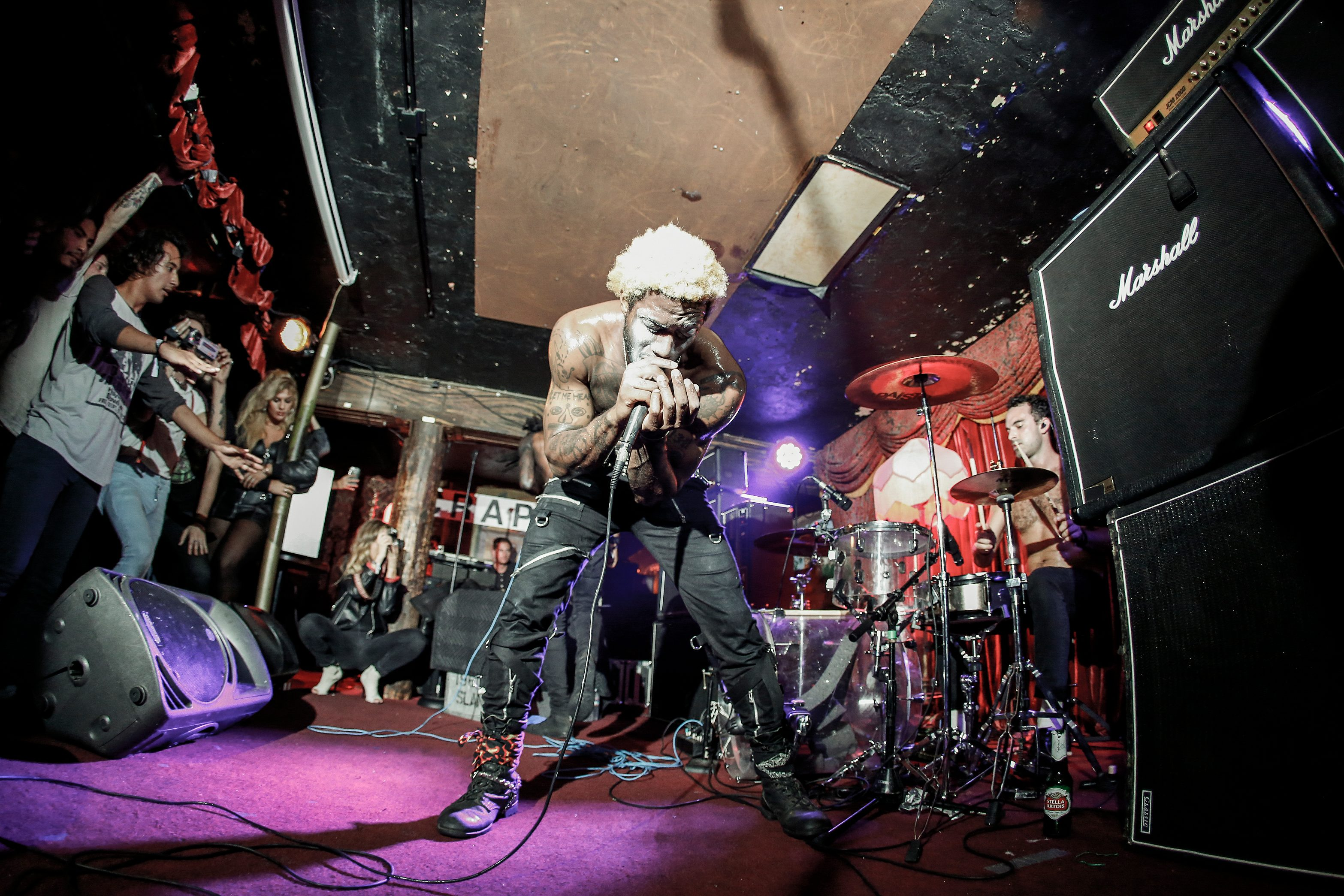 """Ho99o9 Team up with Travis Barker to Cover Bad Brains' """"Big Takeover"""" on Black Power Live"""