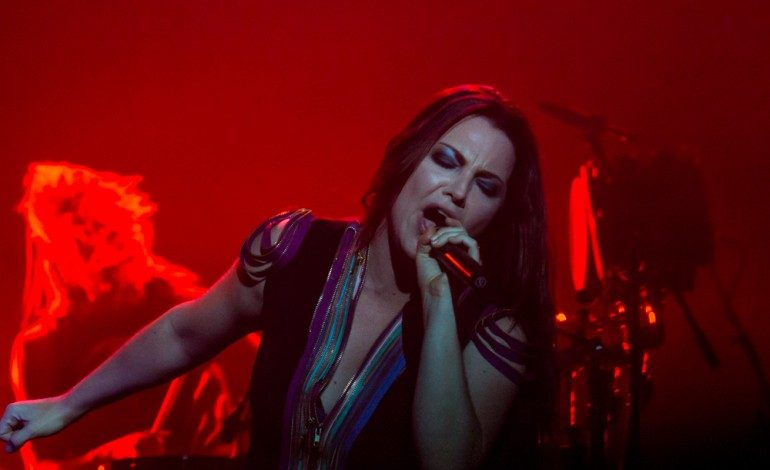 "Amy Lee Performs ""Use My Voice"" at 2021 She Rocks Awards"