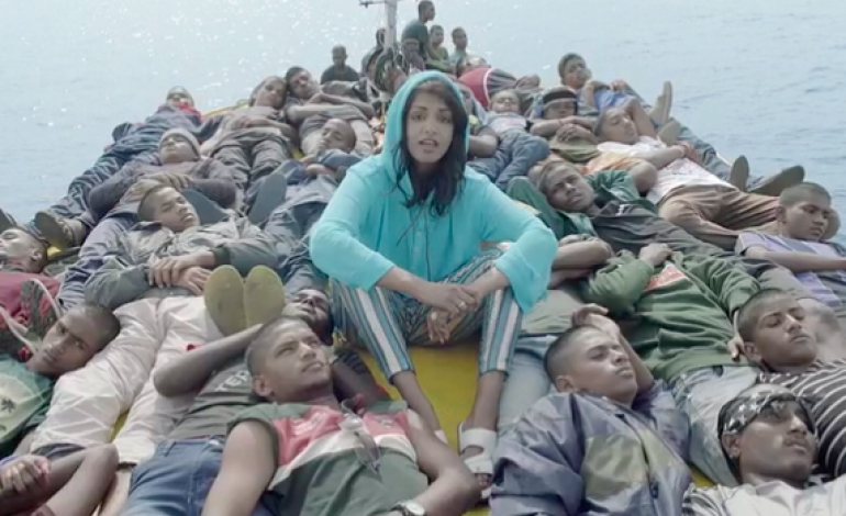 """WATCH: M.I.A. Releases New Video For """"Borders"""""""