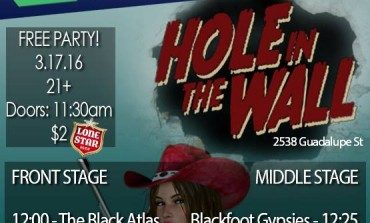 Hole in the Wall SXSW 2016 Day Party Announced