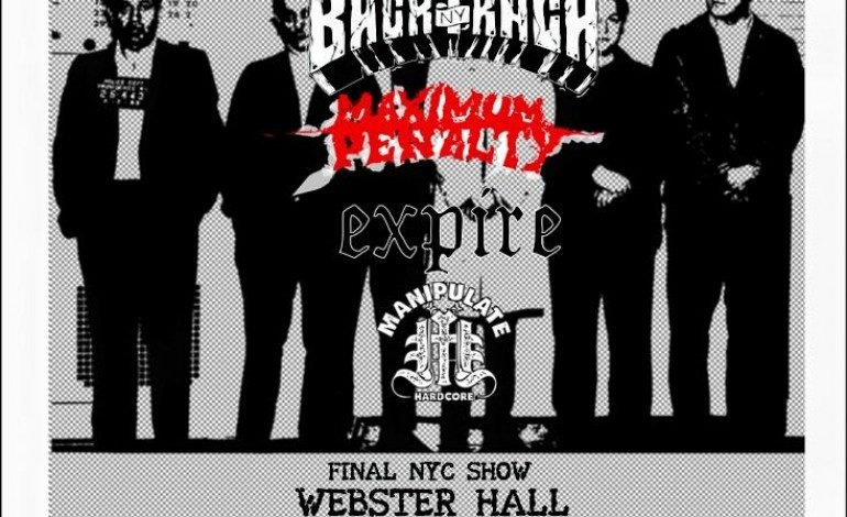 BANE'S LAST NYC SHOW EVER @ The Marlin Room at Webster Hall