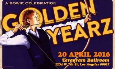 Golden Yearz - A Bowie Celebration @ Teragram Ballroom 4/20