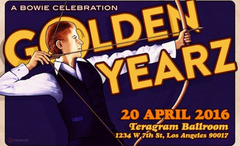 Golden Yearz – A Bowie Celebration @ Teragram Ballroom 4/20