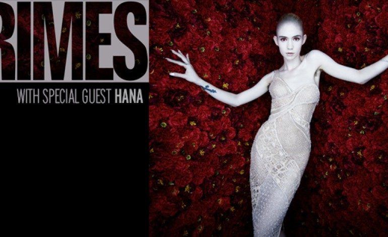 Grimes @ Electric Factory 6/3