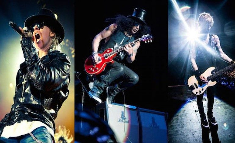 Axl Rose Has Broken His Foot But Guns 'N Roses Tour Will Go On