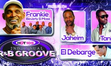Hot 105's Second Annual R&B Groove @ The BankUnited Center 10/15