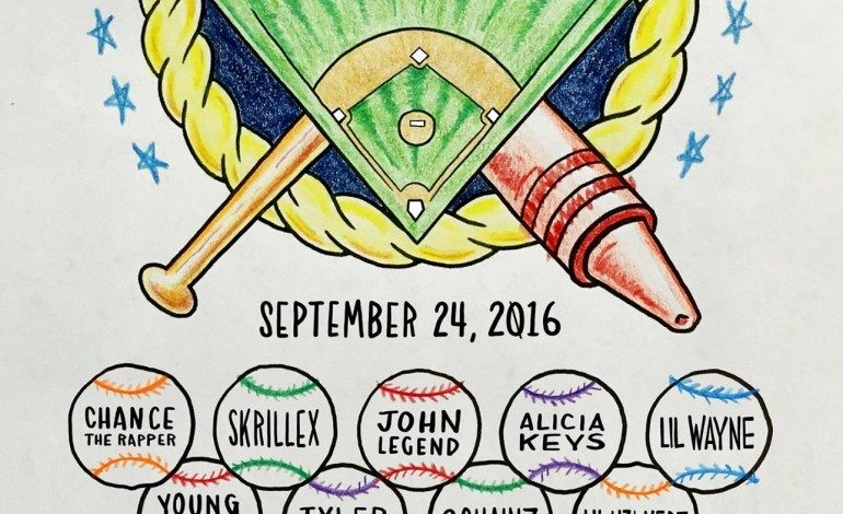 Chance The Rapper's Magnificent Coloring Day @ U.S. Cellular Field 9/24