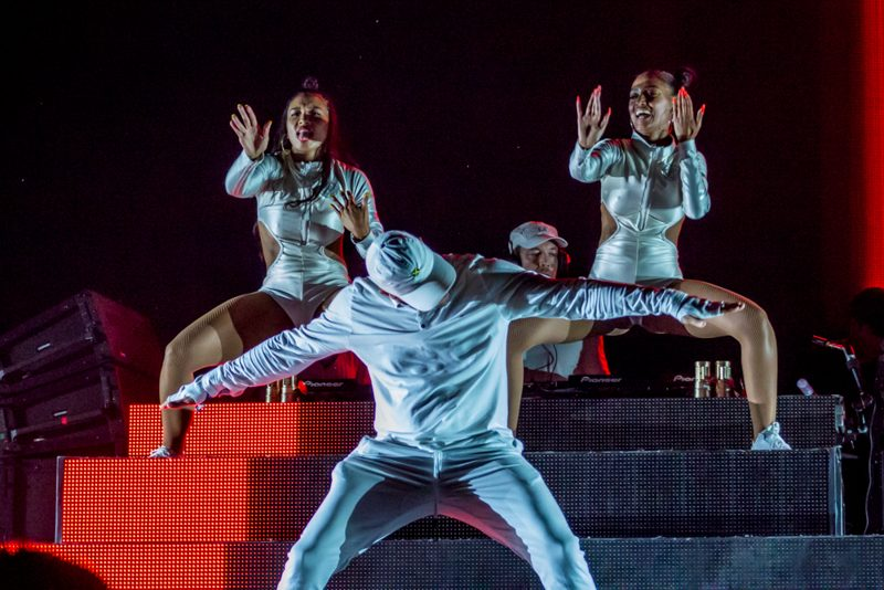 Major Lazer on Day 2 of HARD Summer Music Festival 2016