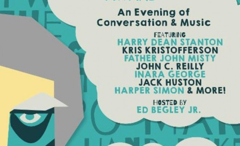 """The """"Harry Dean Stanton Award"""" ft Kris Kristofferson, Father John Misty, +more @ The Theater At Ace Hotel 10/23"""