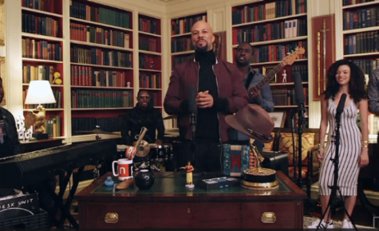 Common Performs New Music At The White House On NPR's Tiny Desk Concerts