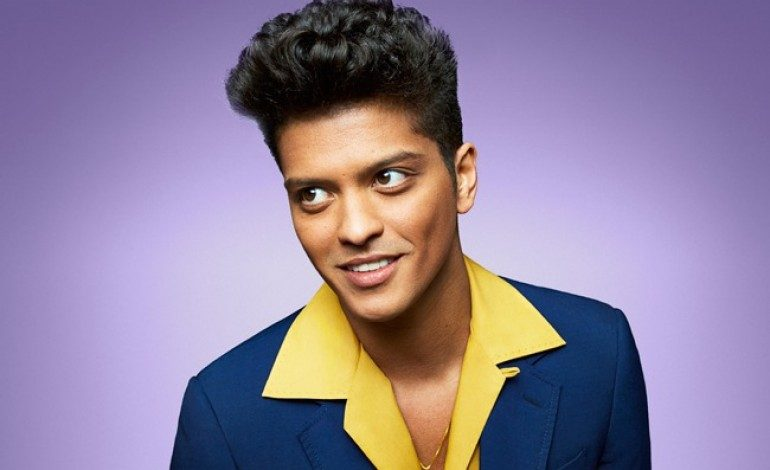 Bruno Mars Makes History With Five RIAA Diamond Certified Songs