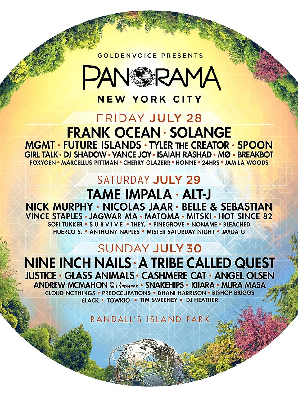 Panorama Festival Announces 2017 Lineup Featuring Nine Inch Nails, A ...
