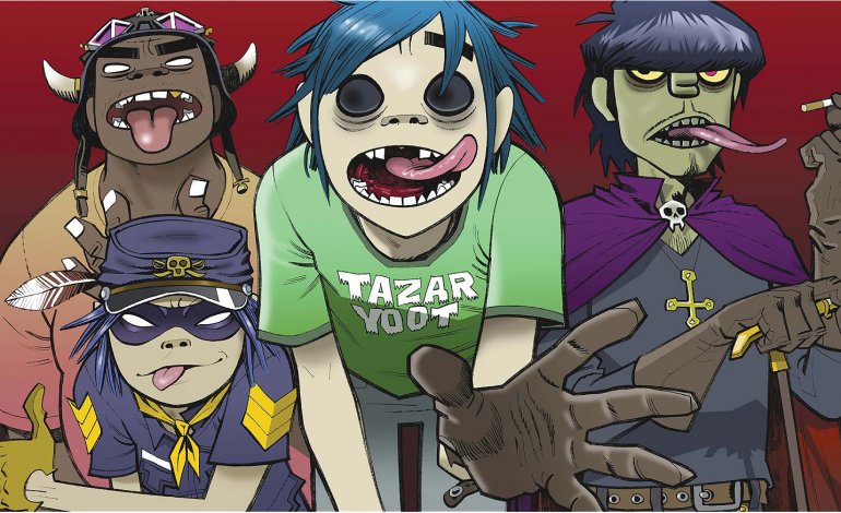 """LISTEN: Gorillaz Release New Song """"Let Me Out"""" Featuring Mavis Staples and Pusha T"""