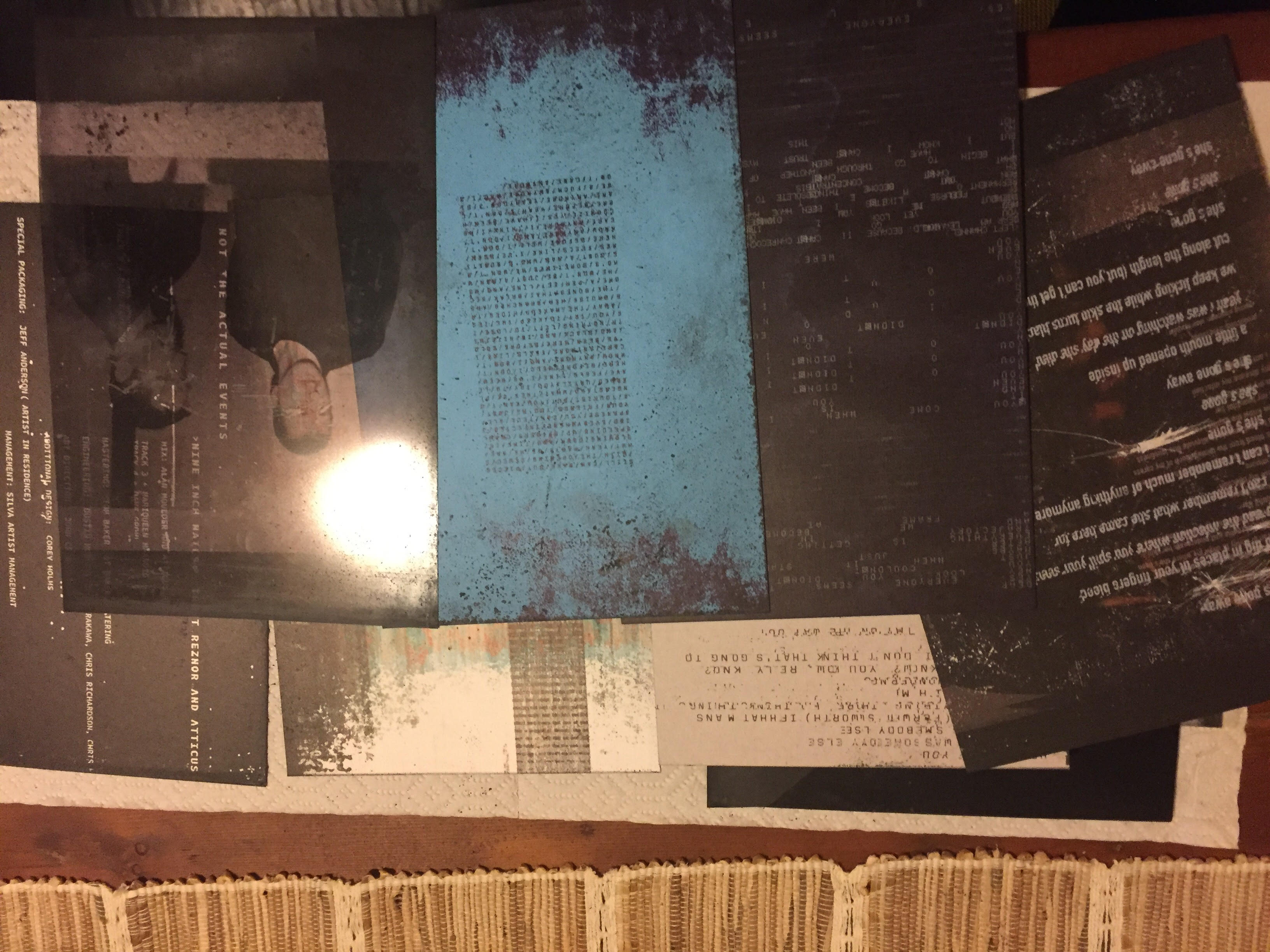 Unboxing The Nine Inch Nails \