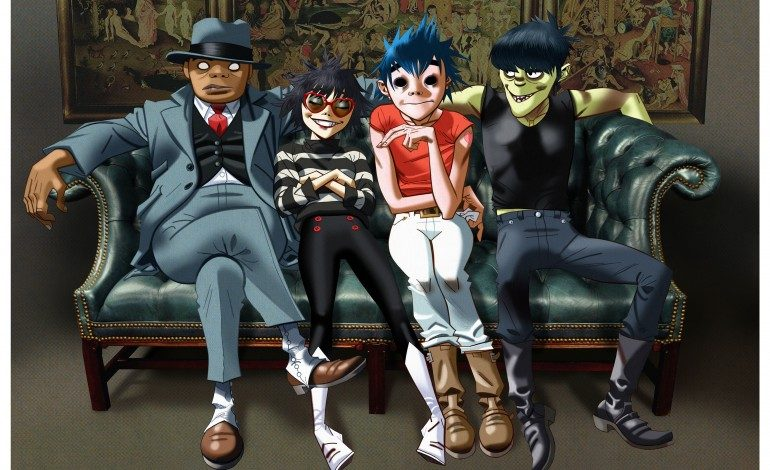 "LISTEN: Gorillaz Follow Up New Album Announcement By Releasing Three New Songs ""Andromeda,"" ""We've Got The Power"" and ""Ascension"""