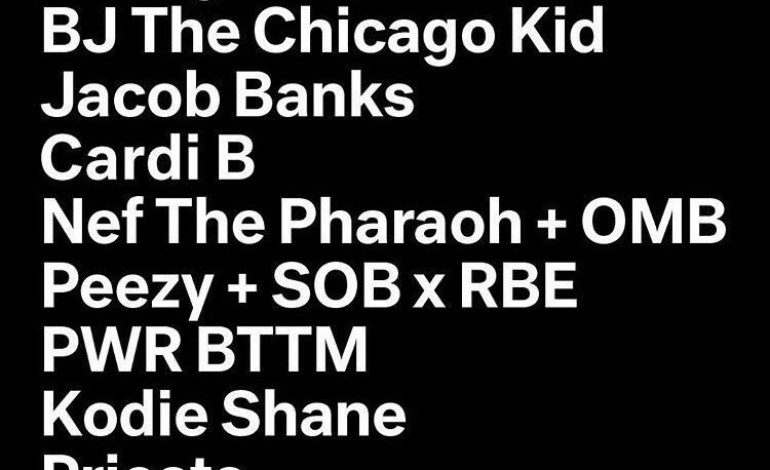 FADER FORT SXSW 2017 Lineup For Saturday March 18th Featuring 2Chainz