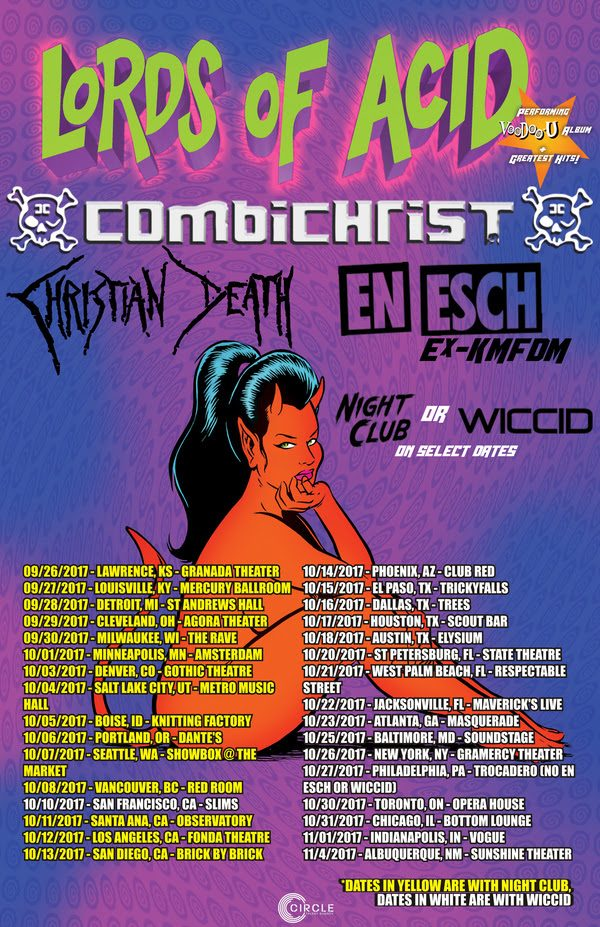 lords of acid tour