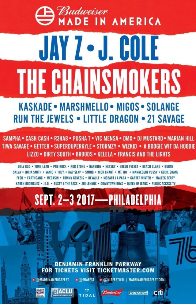made in america lineup