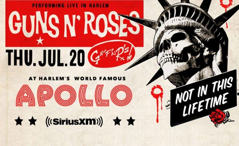 Sirius XM Presents Guns N' Roses @ Apollo Theater 7/20