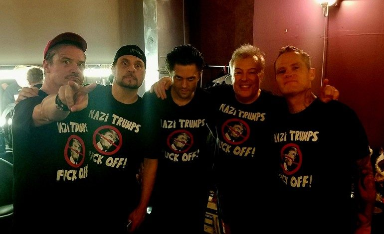 """Jello Biafra Joins Dead Cross On Stage To Perform """"Nazi Trumps Fuck Off"""""""