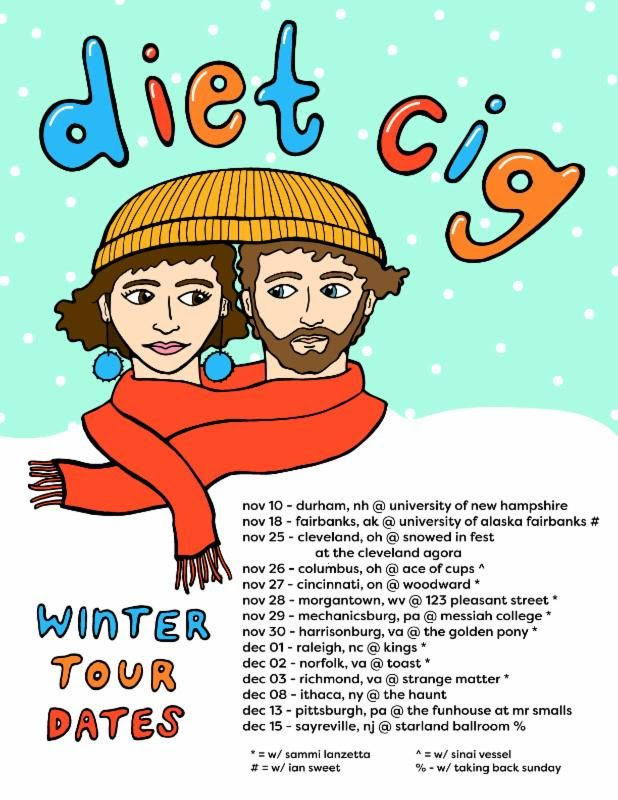 Diet Cig Tour Flyer