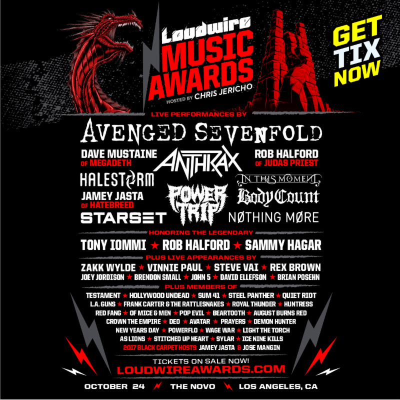 Loudwire Awards 2017 FLyer