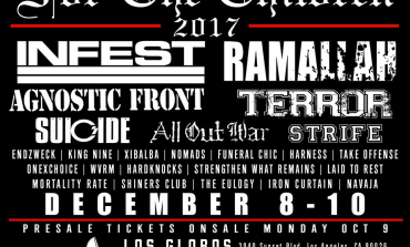 For The Children 2017: Infest, Ramallah, Terror, Strife, All Out War & More @ The Echoplex 12/09-10