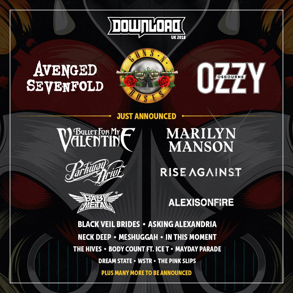 Download Festival UK Flyer