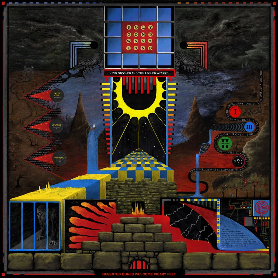 King Gizzard and the Lizard Wizard album cover