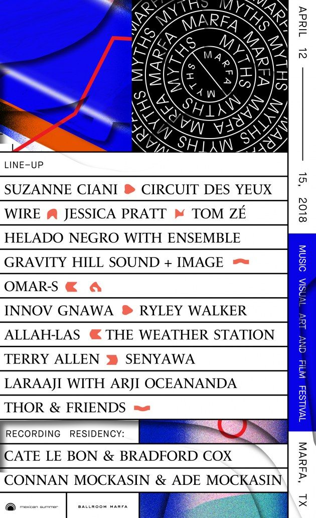 Marfa Myths Announces 2018 Lineup Featuring Wire and Recording ...