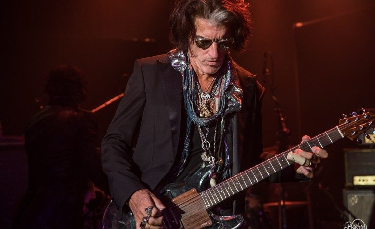Joe Perry of Aerosmith Alert and Responsive After Being Hospitalized