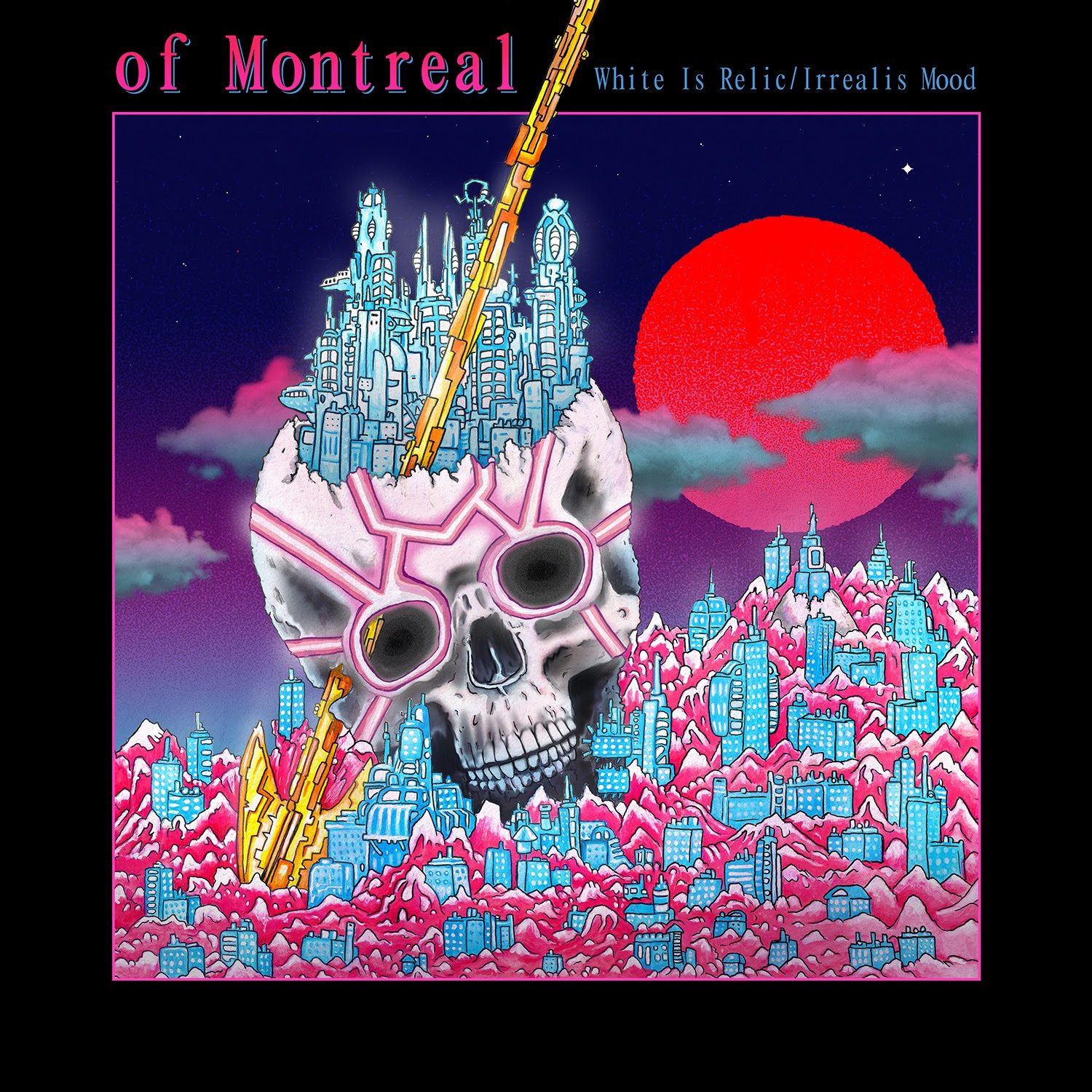 Of Montreal Album Cover
