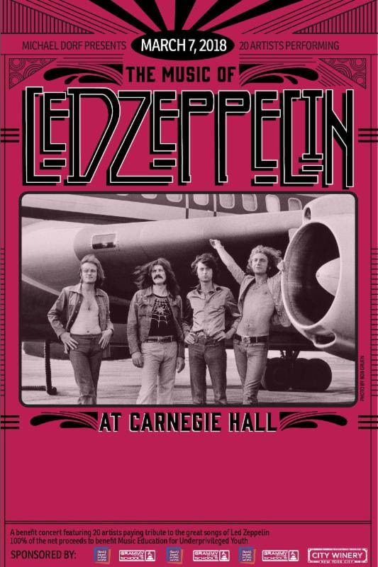 Led Zeppelin at Carnegie Hall 2018