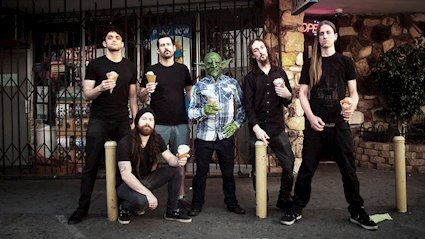 "Nekrogoblikon and Brendon Small Join Forces for Cinematic New Video for ""Dressed As Goblins"""