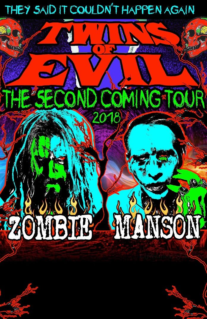 Rob Zombie and Marilyn Manson Tour 2018