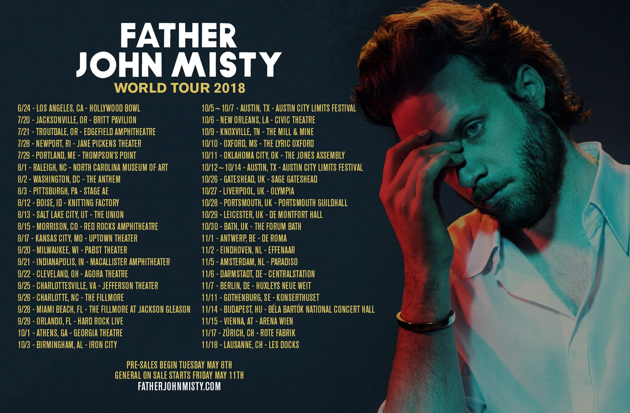 Father John Misty Tour  Us
