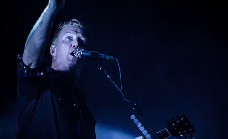 "Josh Homme of Queens Of The Stone Age Release Christmas Single of ""Silent Night"""