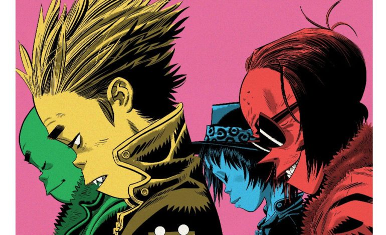 "Gorillaz Pay Tribute To Classic Arcade Character with ""Pac-Man"" Featuring Schoolboy Q"