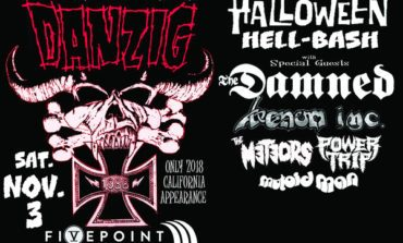 Danzig 30 Year Anniversary Halloween Hell Bash @ FivePoint Amphitheater 11/3