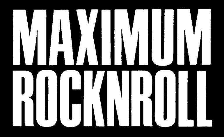 """Maximum Rocknroll Announces They're Putting a Pause on Publishing White Authors Unless They """"Amplify"""" BIPOC"""