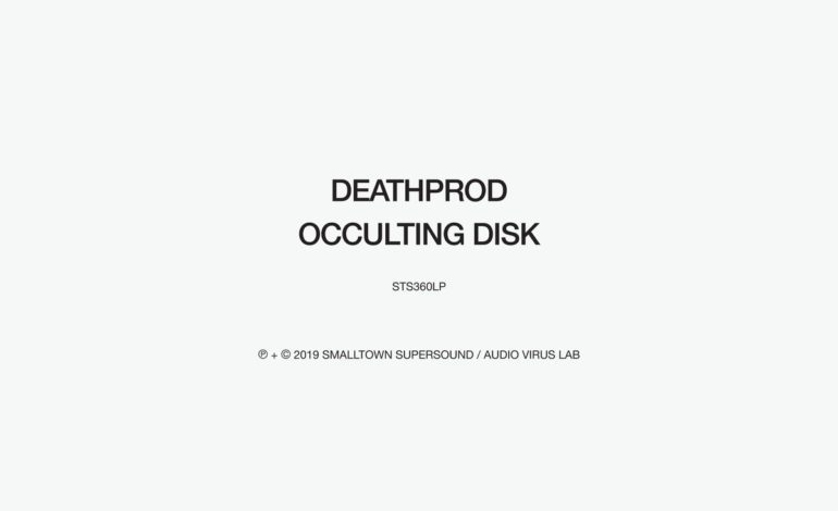 Deathprod – Occulting Disk