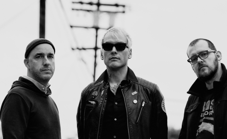 """Alkaline Trio Release Three Song EP Featuring New Songs """"Minds Like Minefields,"""" """"Radio Violence"""" and """"Smokestack"""""""