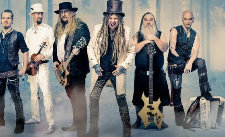 """Korpiklaani Share Energetic Anthrax Cover """"Ennen"""""""